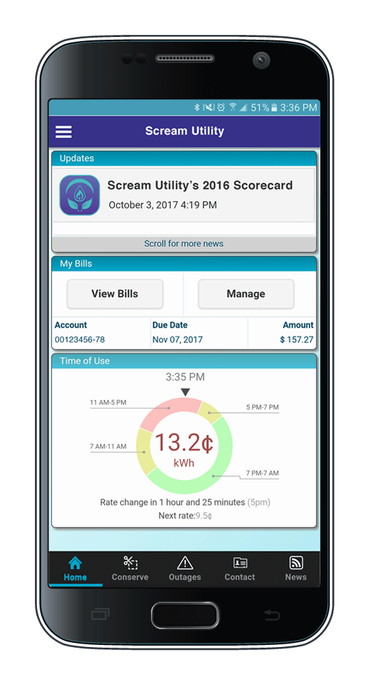 Scream Utility Dashboard